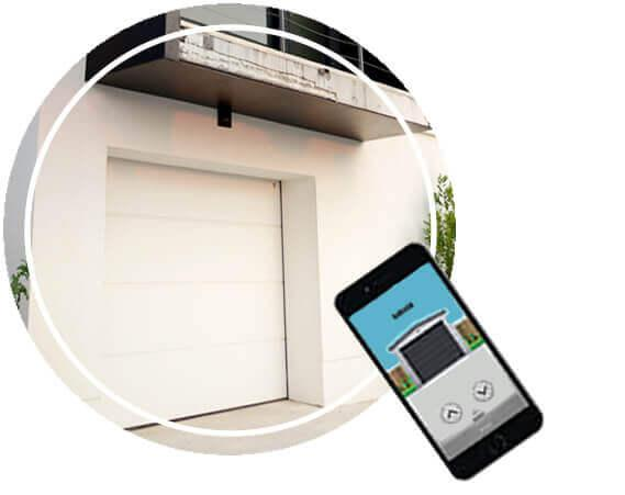 Garage Door Smartphone Opener
