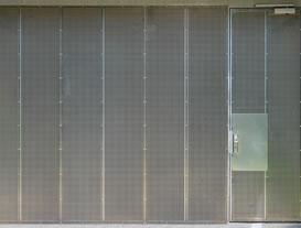Sliding Carpark Panel Door